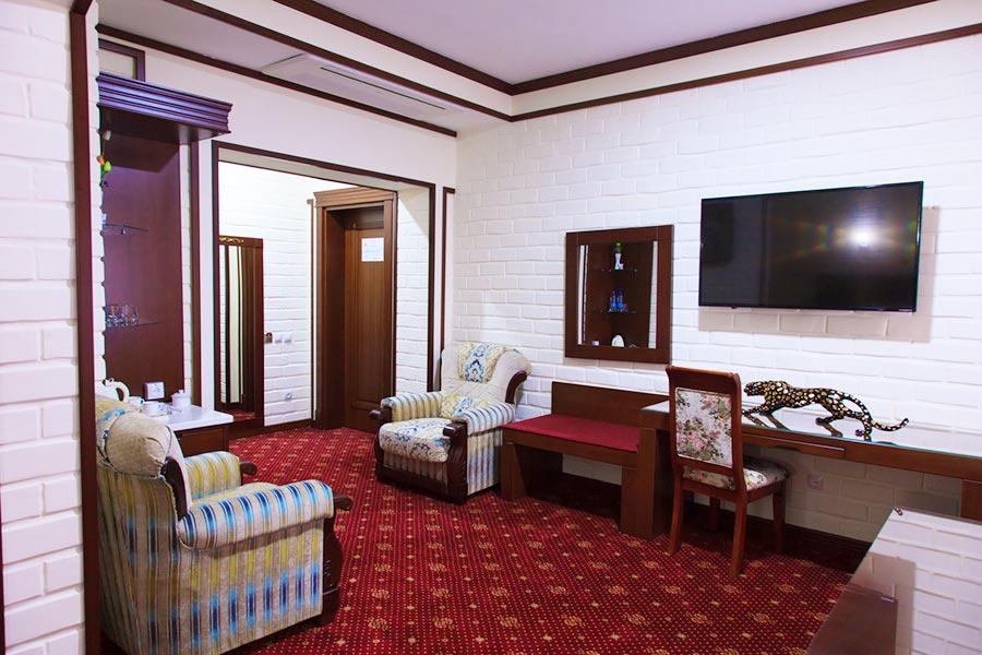 Люкс Апартамент в гостинице Rakat Plaza